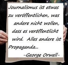 Journalismus Orwell