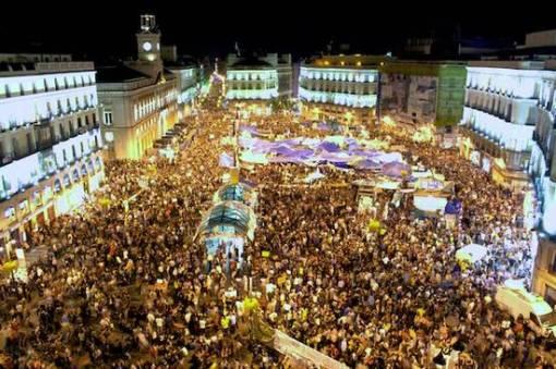 Proteste-in-Spanien