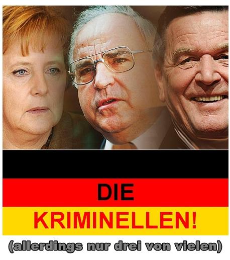 Dei deutsche Scheinbundesregierung