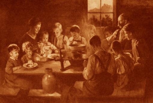 Bergbauernfamilie