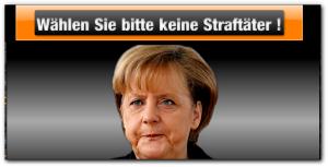 Merkel CDU Verbrecher