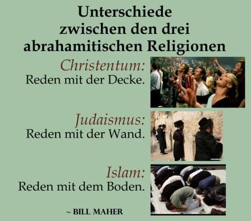 3 Religionen