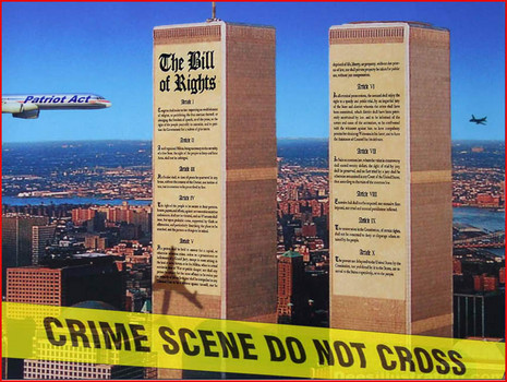 911-twin Towers Crime Scene