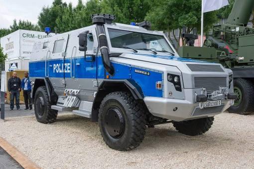 polizeipanzerwagen