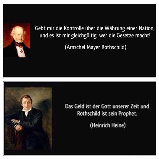 Rothschild Geld ist Gott